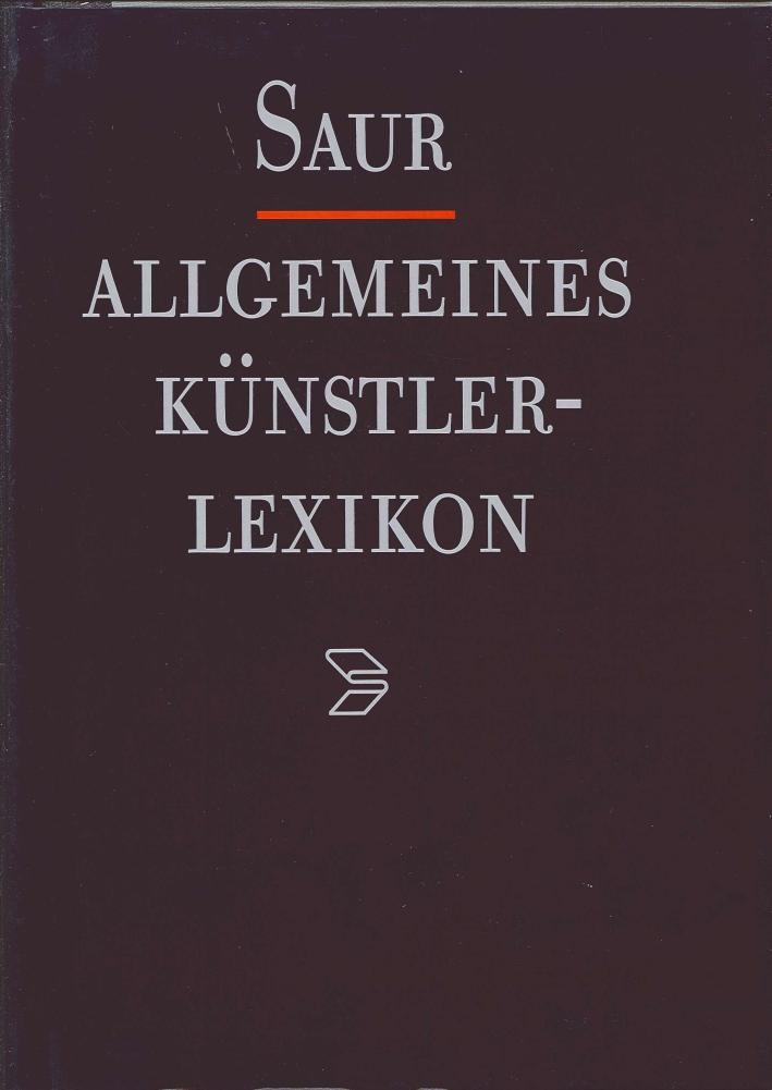 Allgemeines Kuenstler Lexicon. Band 19: Chouppe-Clovio