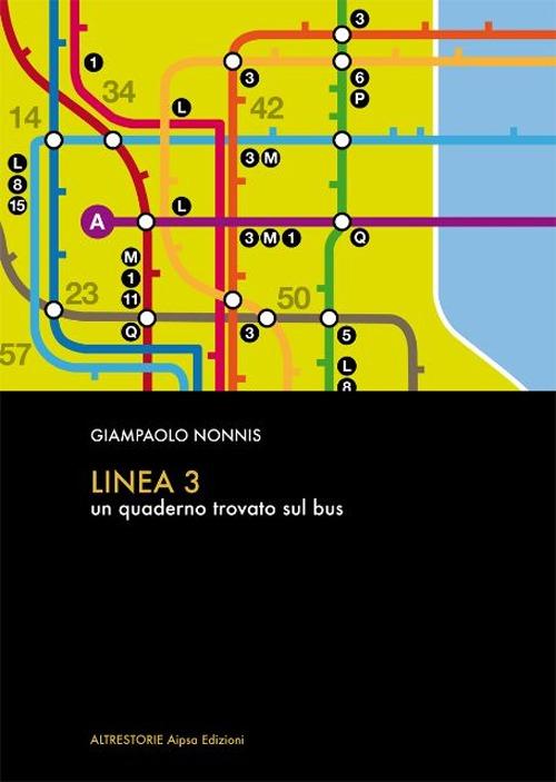 Linea 3. Un quaderno trovato sul bus