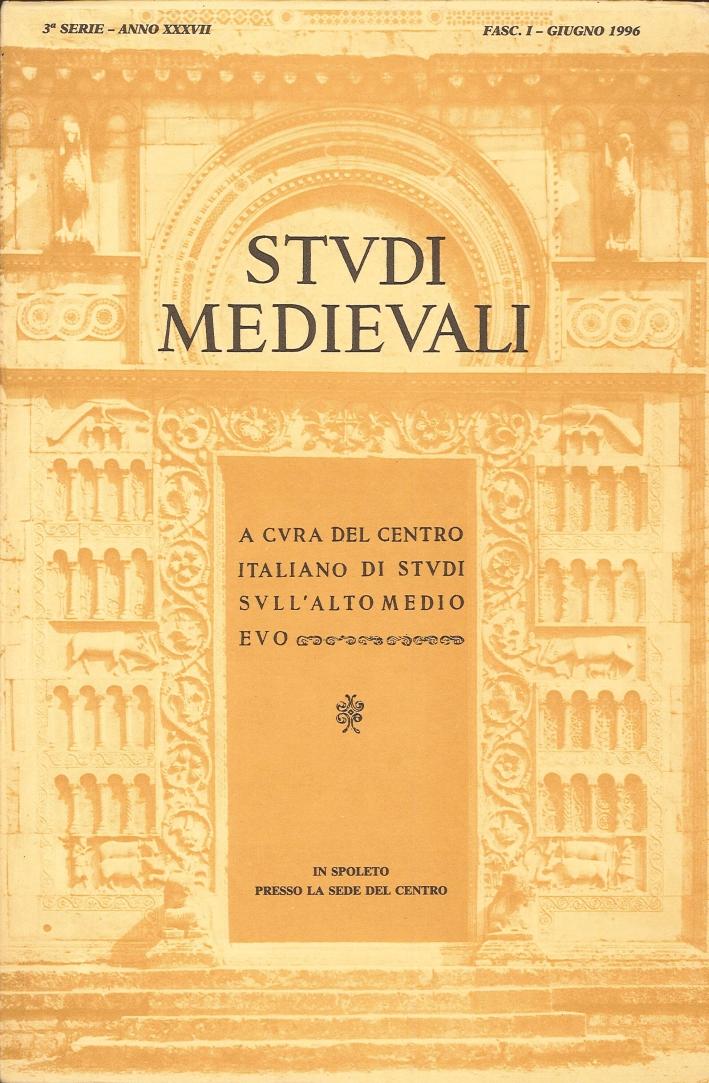 Studi medievali 1996. [edizione incompleta. Disponibile solo fasicolo 1]