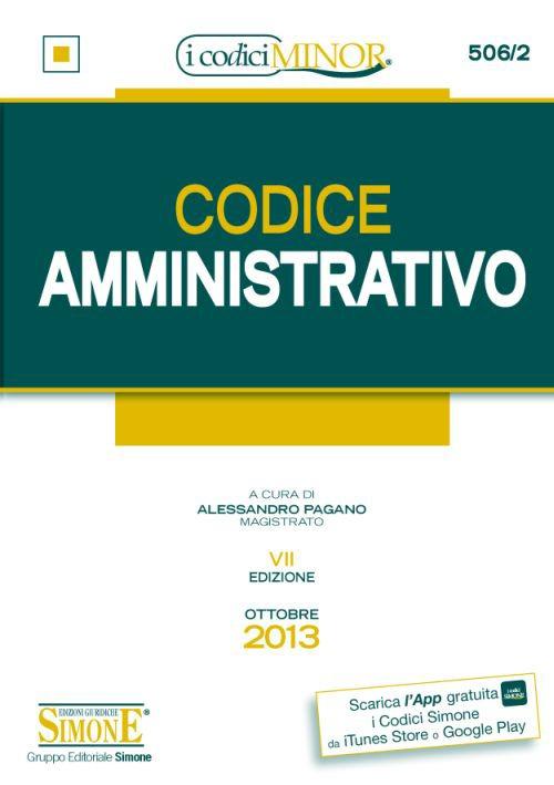 Codice amministrativo. Ediz. minor
