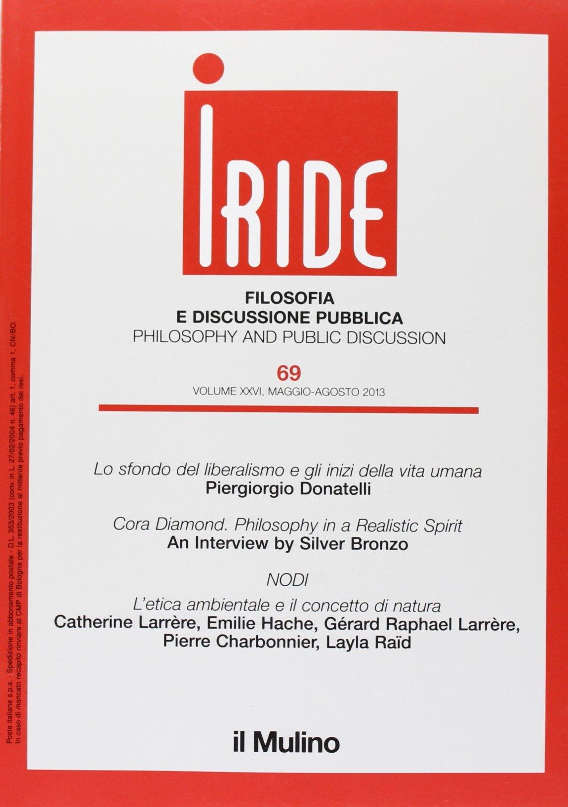 Iride (2013). Vol. 2.