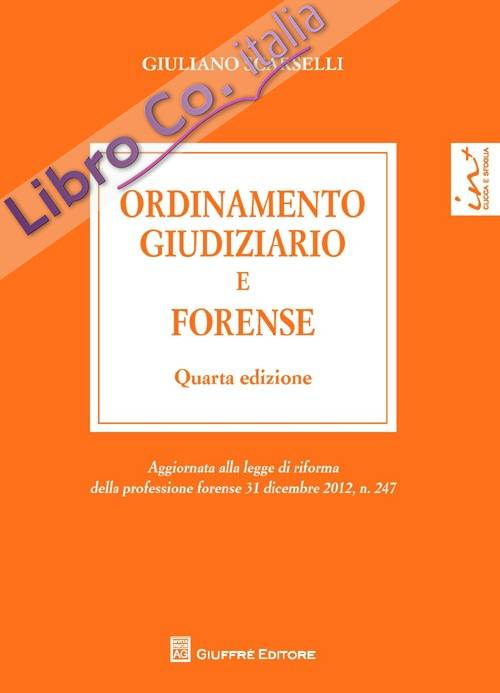 Ordinamento giudiziario e forense