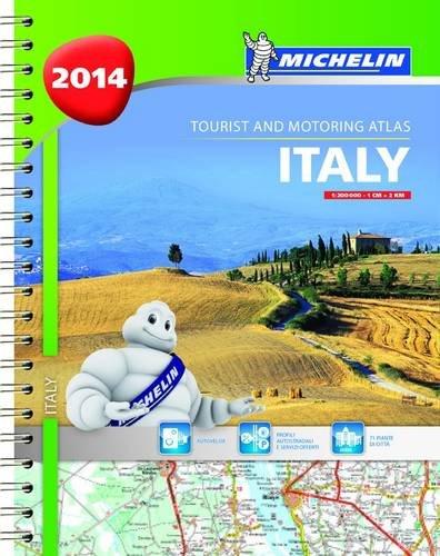 Italy 2014 A4 spiral atlas