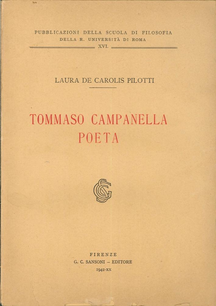 Tommaso Campanella Poeta.