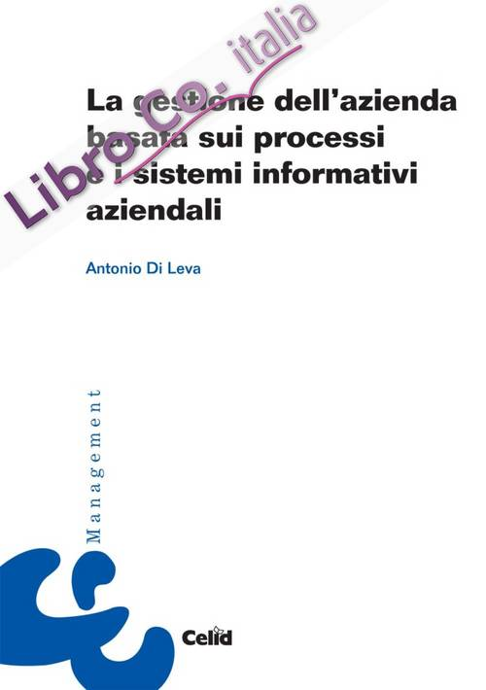 La gestione dell'azienda basata sui processi e i sistemi informativi aziendali