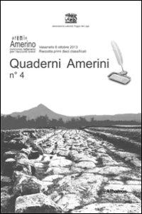 Quaderni amerini. Vol. 4.