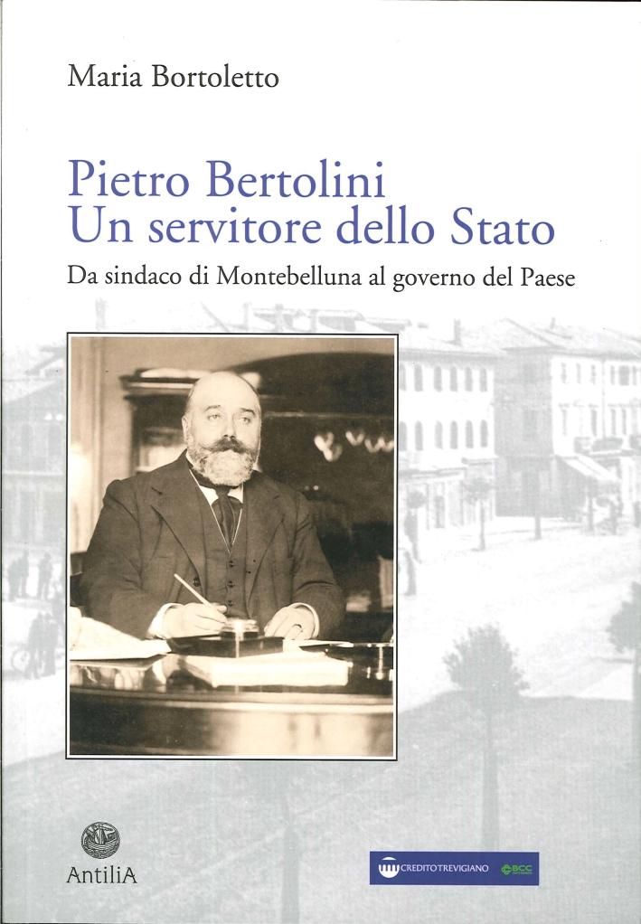 Pietro Bertolini. Un Servitore dello Stato. Da Sindaco di Montebelluna al Governo del Paese.