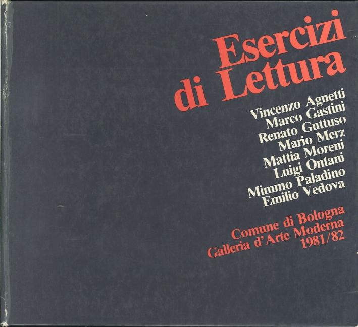 Esercizi di Lettura 1. Comune di Bologna Galleria d'Arte Moderna 1981/82