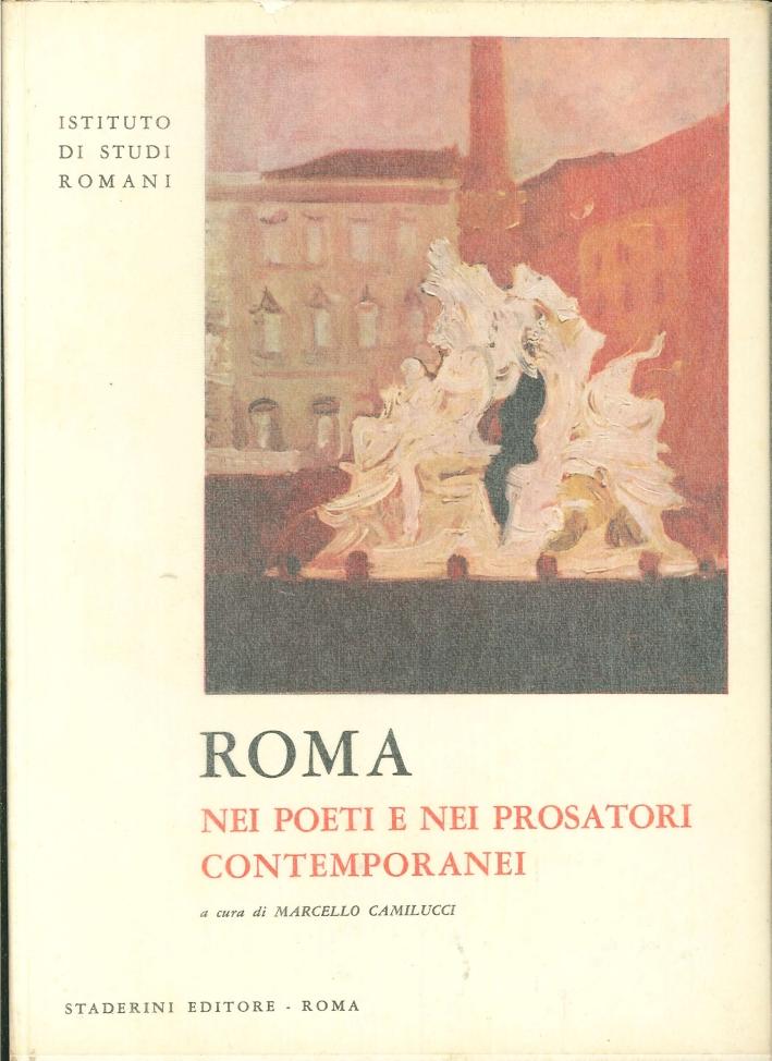 Roma nei Poeti e nei Prosatori Contemporanei.