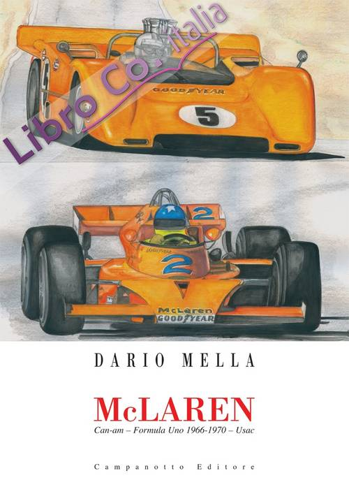 Mclaren Can-Am - Formula uno 1966-1970 - Usac