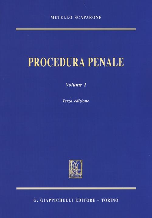 Procedura Penale: 1