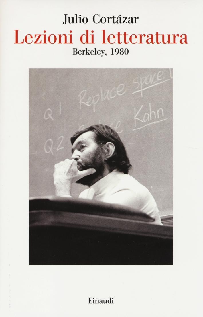 Lezioni di letteratura, Berkley 1980