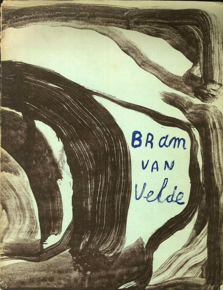 Bram Van Velde. (Litografie)