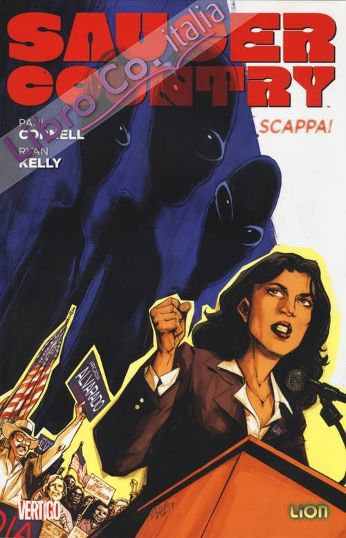 Scappa! Saucer country. Vol. 1.