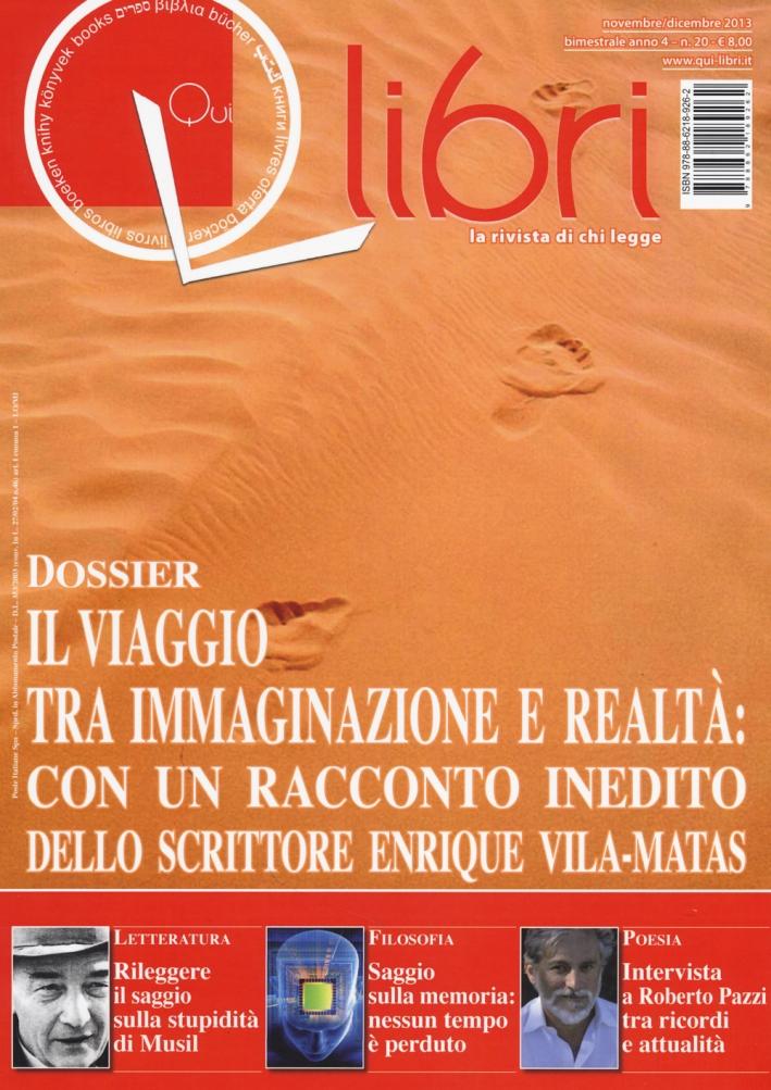 Qui libri (2013). Vol. 20