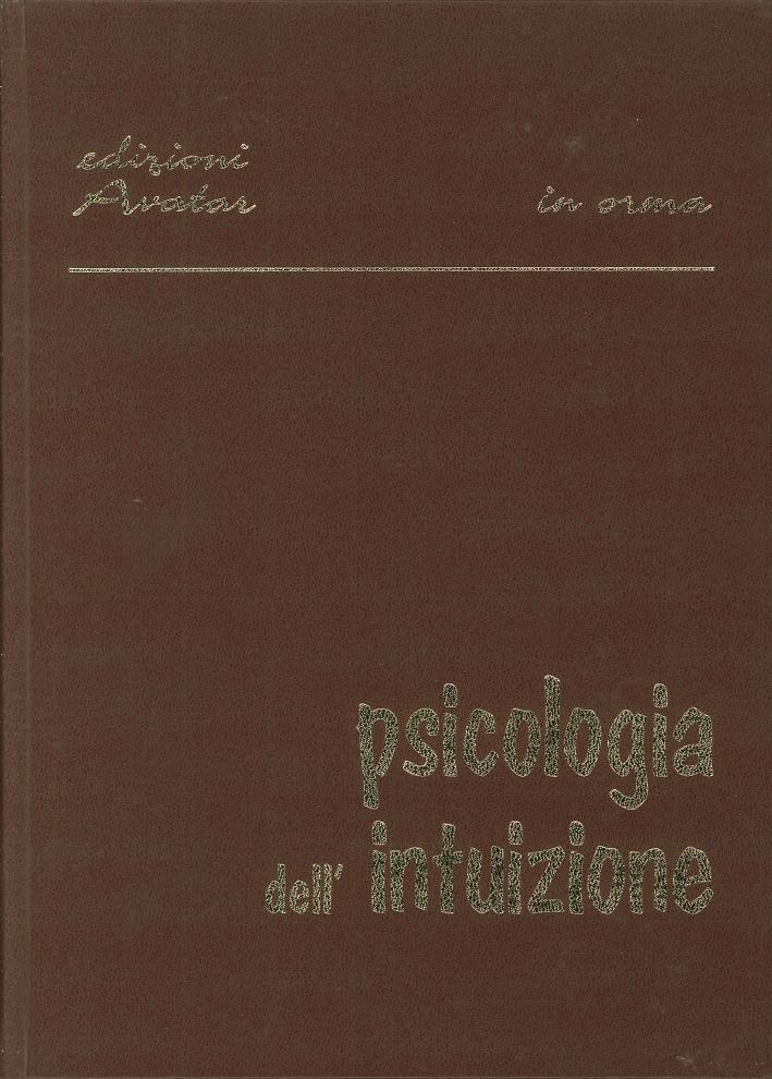 Psicologia dell'Intuizione