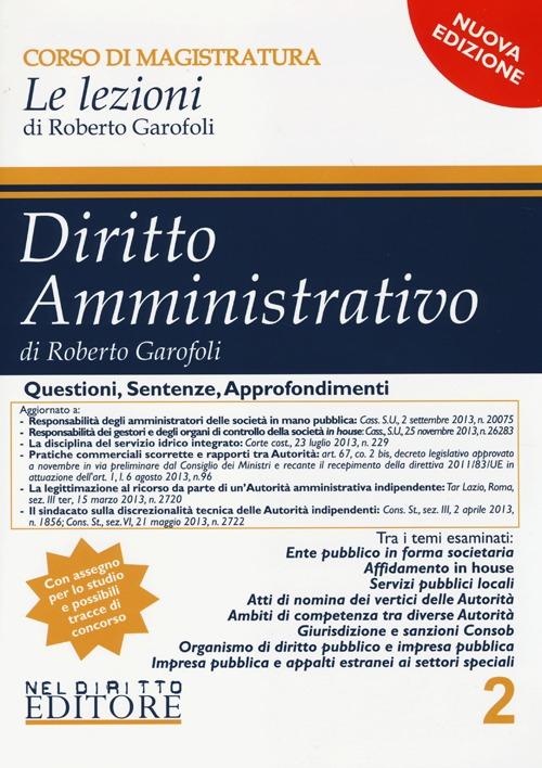 Diritto amministrativo. Vol. 2