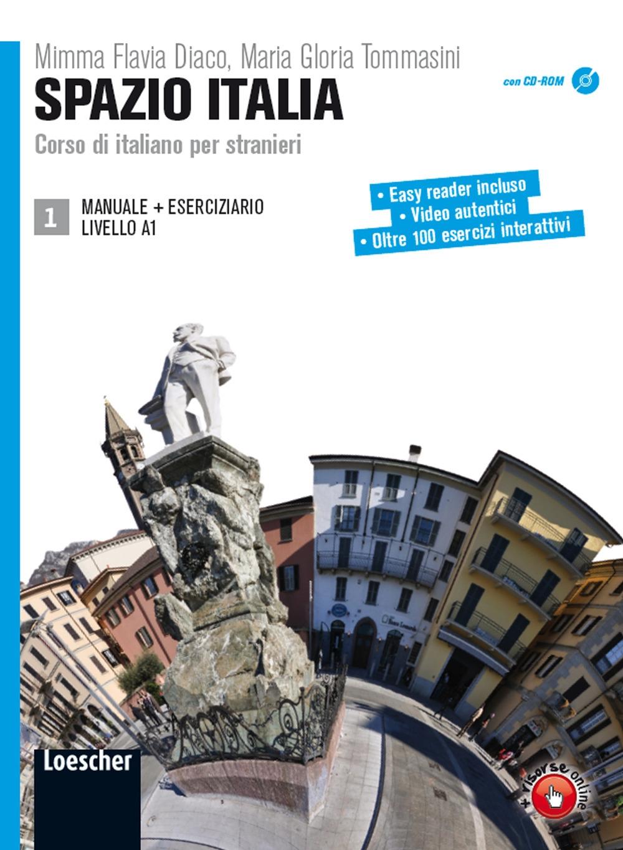 Spazio Italia A1 Manuale 1 + Eserciziario 1+ DVDROM