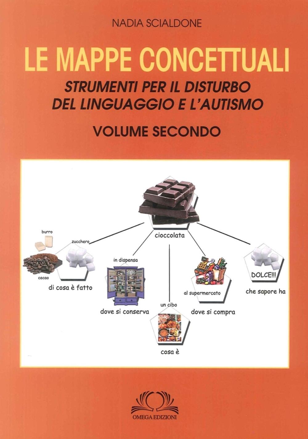 Le Mappe Concettuali. Strumenti per il Disturbo del Linguaggio e Autismo. Volume Secondo.