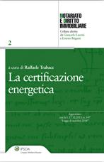 La Certificazione Energetica.