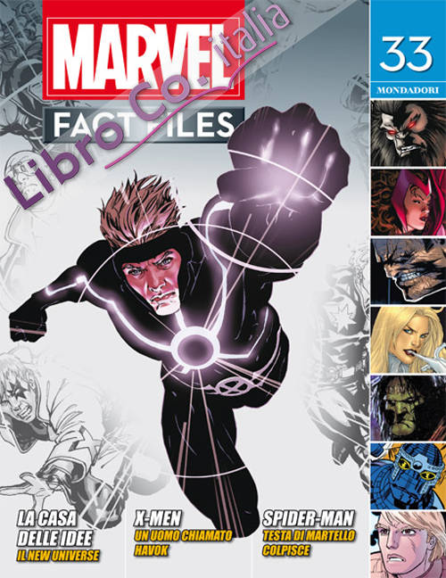 Marvel fact files. Vol. 18