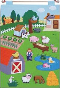 Animali della fattoria pannello