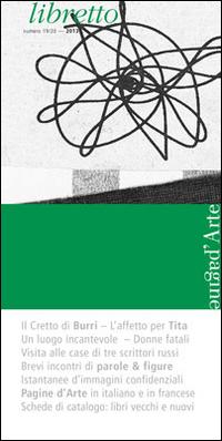 Libretto di Pagine d'Arte. Numero 19/20