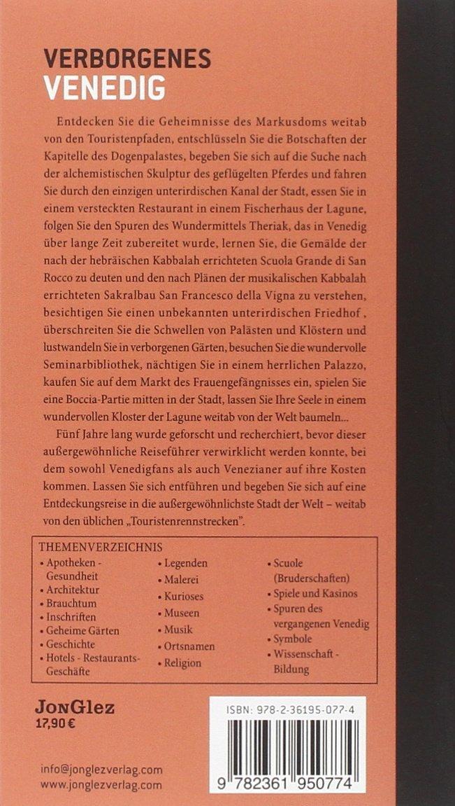 Venezia insolita e segreta. Ediz. tedesca