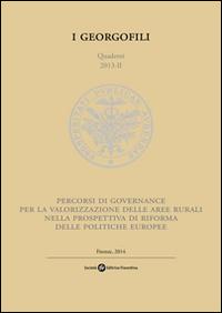 Percorsi di governance per la valorizzazione delle aree rurali nella prospettiva di riforma delle politiche europee