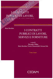 I Contratti Pubblici di Lavori, Servizi e Forniture