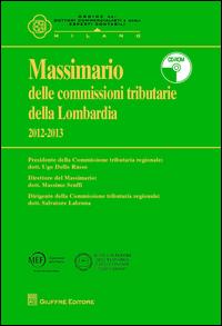Massimario delle Commissioni Tributarie delle Lombardia 2012-2013