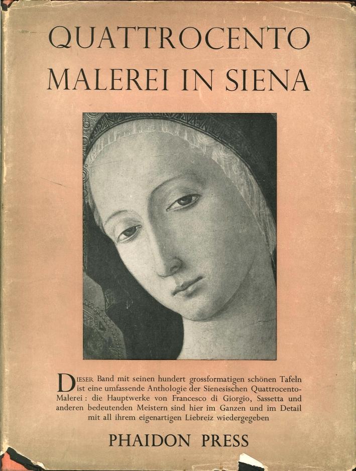 Quattrocento Malerei in Siena.
