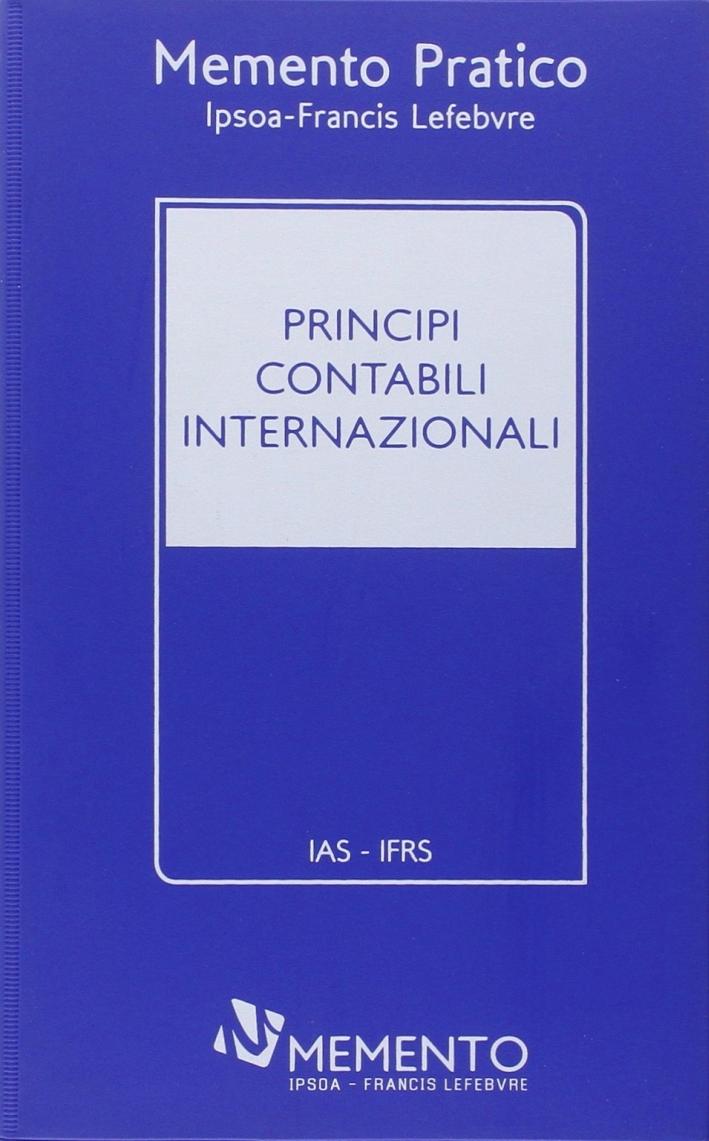Memento Pratico Principi contabili internazionali 2014