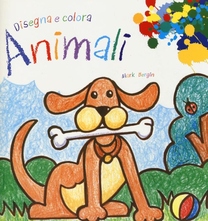 Animali. Disegna e colora.