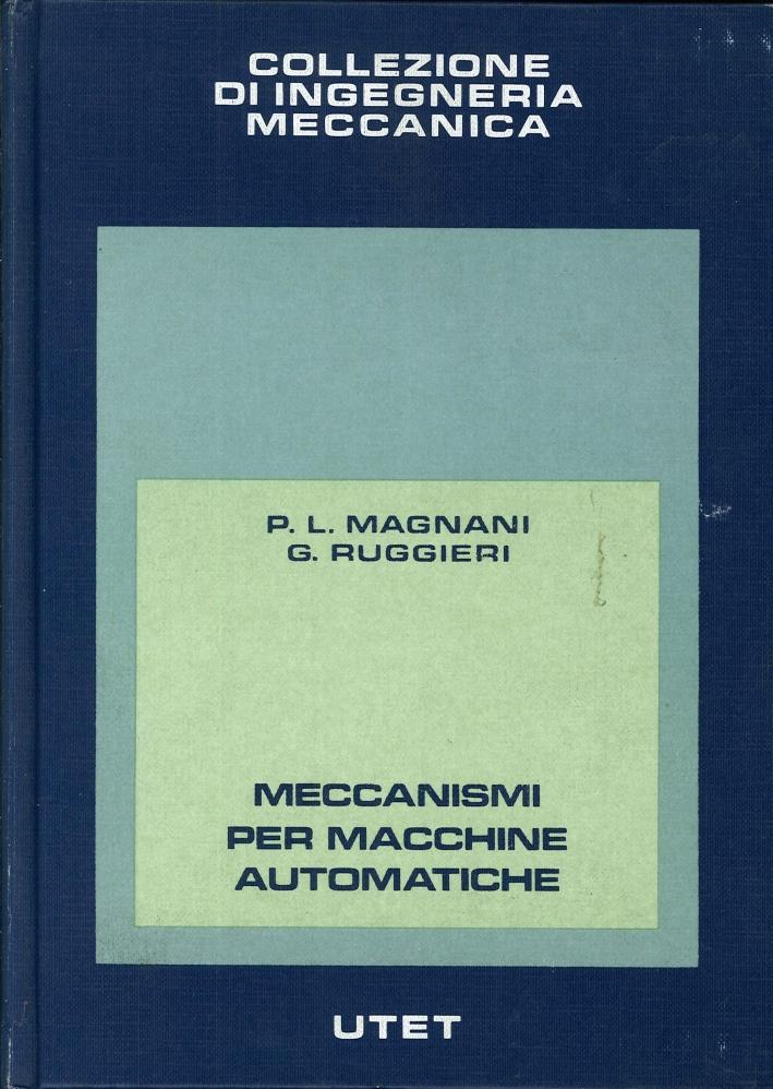 Meccanismi per Macchine Automatiche.