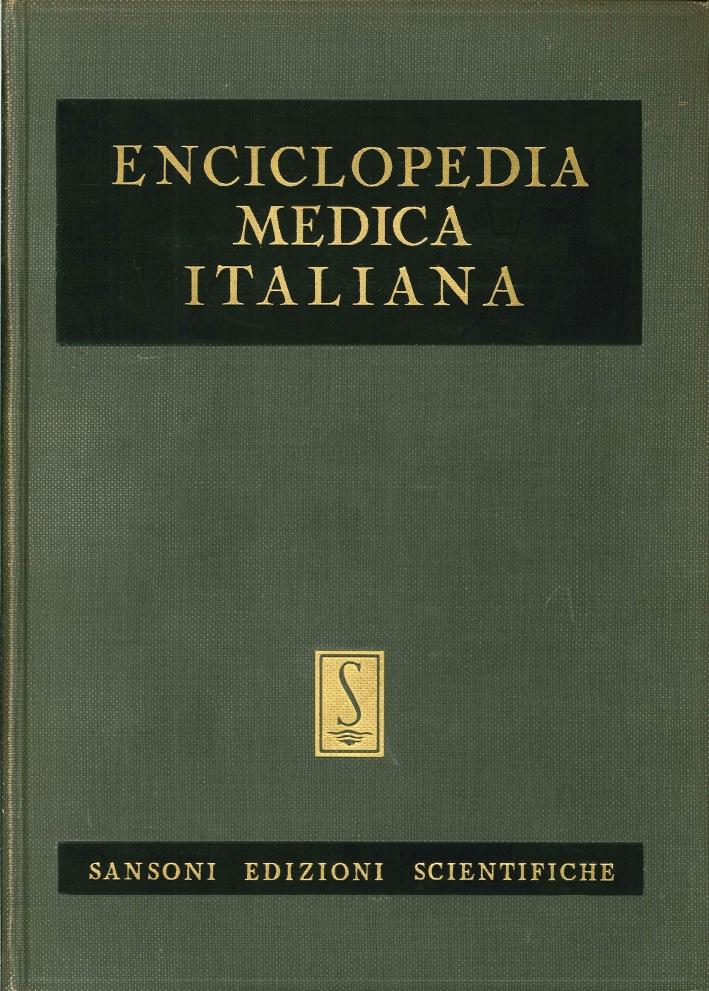 Enciclopedia Medica Italiana. (9 Vol. + Indice e 2 Aggiornamenti)