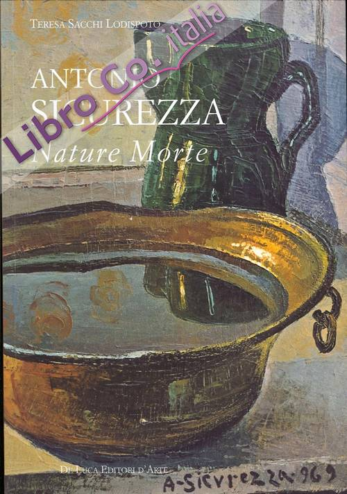Antonio Sicurezza. Nature Morte.