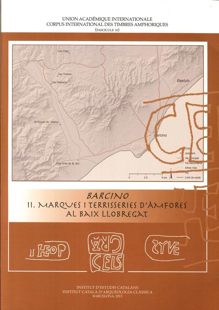 Barcino II. Marques i terrisseries d'àmfores al Baix Llobregat