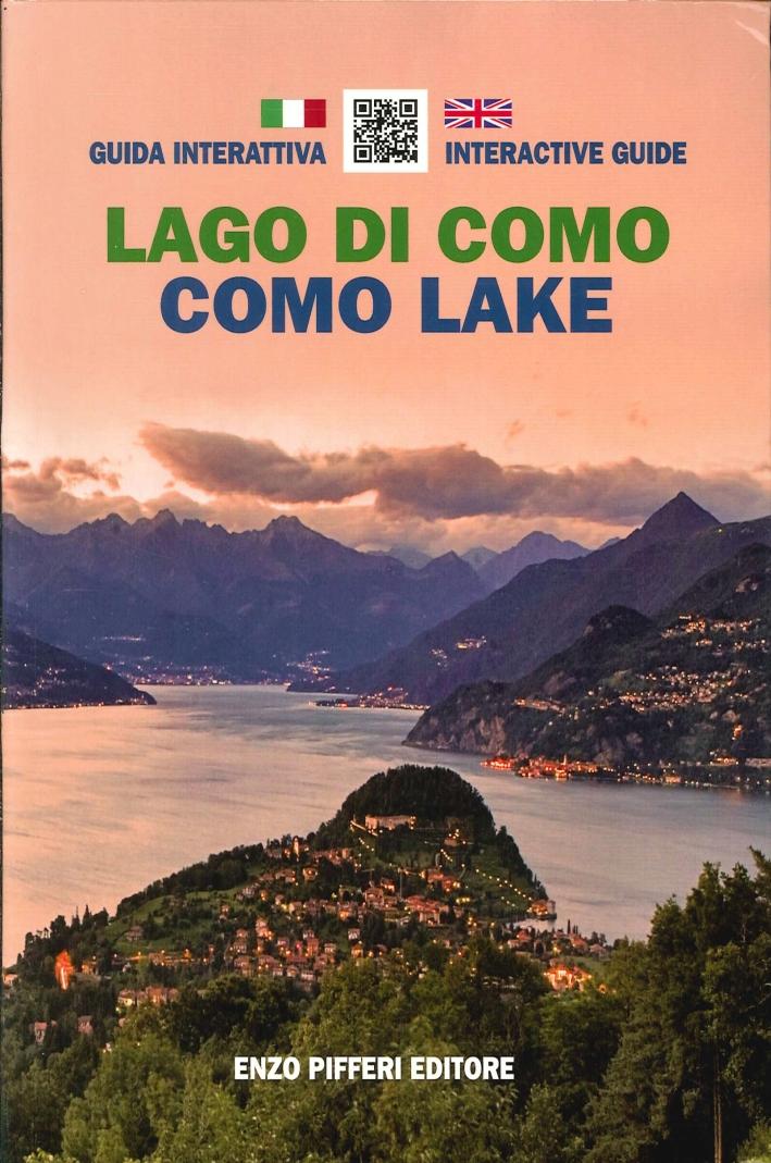 Guida interattiva al lago di Como. Interactive guide Como lake