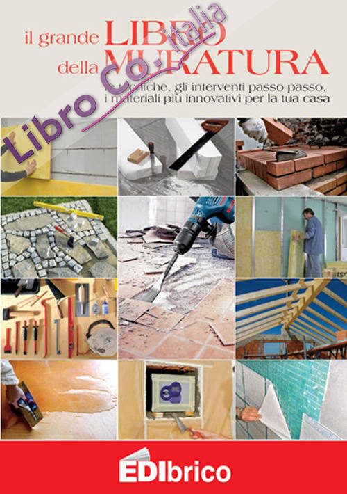 Il grande libro della muratura. Le tecniche, gli interventi passo passo, i materiali più innovativi per la tua casa.