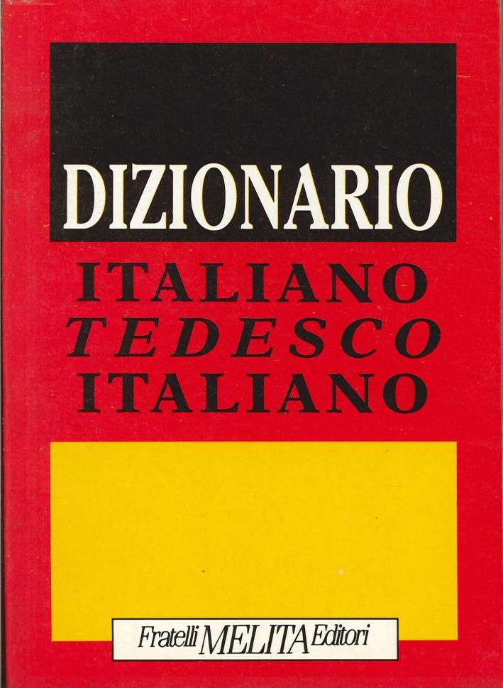 Dizionario. Italiano tedesco italiano