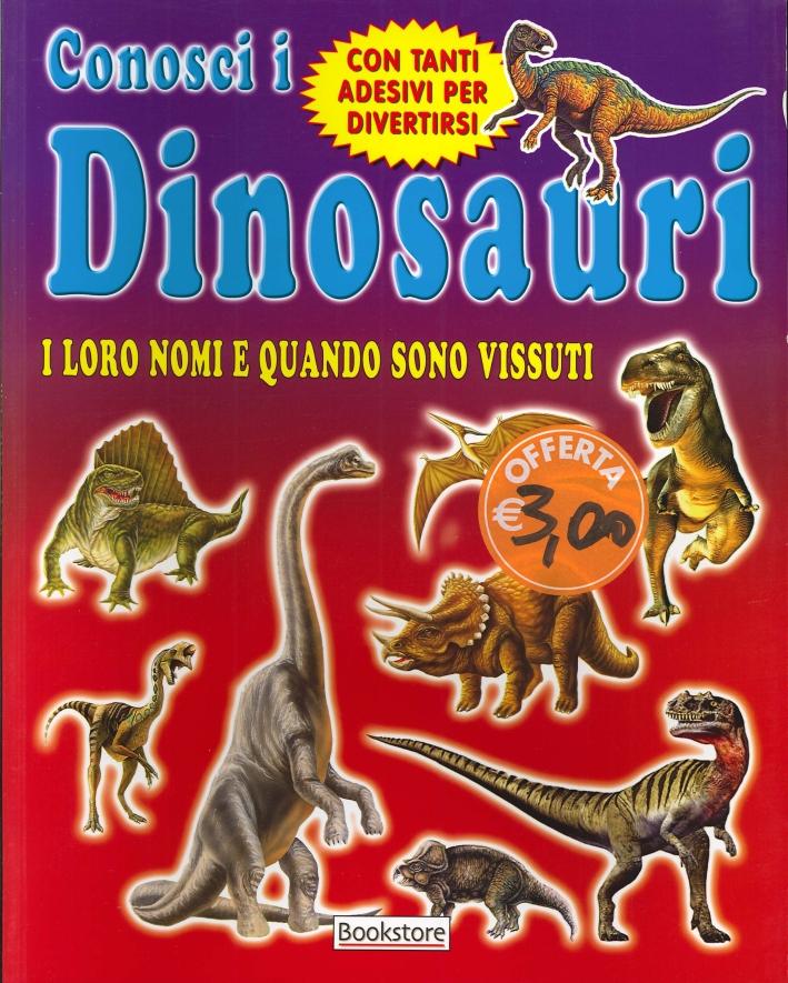 Conosci i dinosauri. I loro nomi e quando sono vissuti