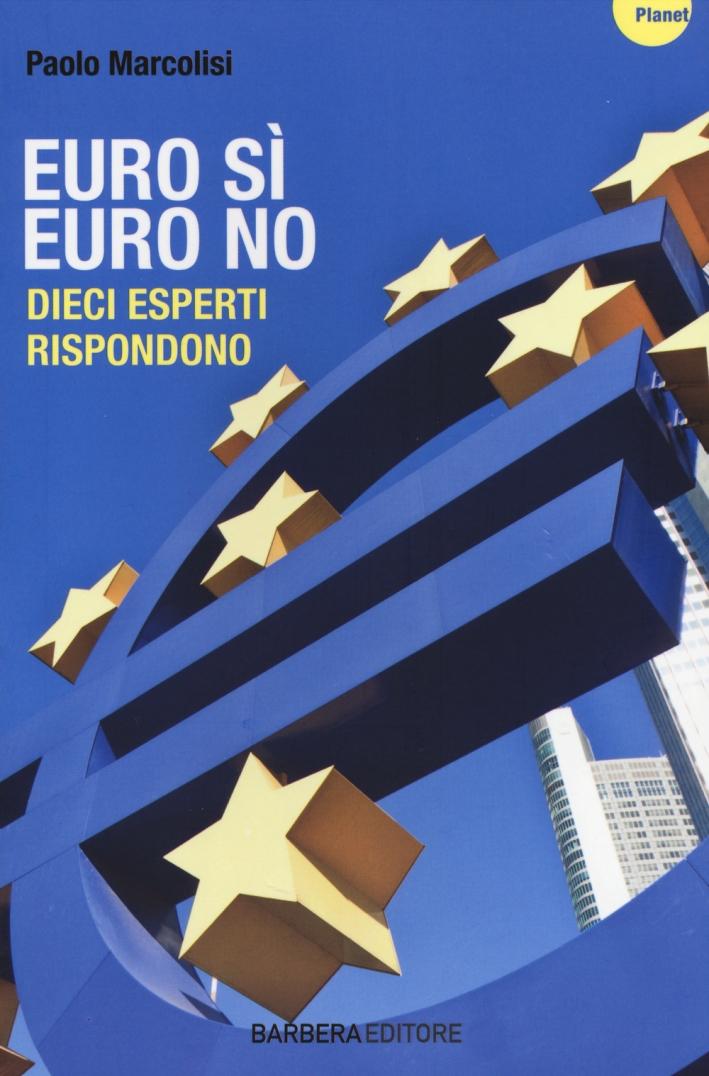Euro sì euro no. Dieci esperti rispondono.