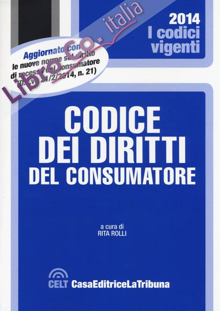 Codice dei diritti del consumatore