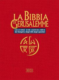 La Bibbia di Gerusalemme CD Audio. Con Audiolibro