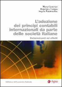 Adozione dei principi contabili internazionali da parte delle società italiane