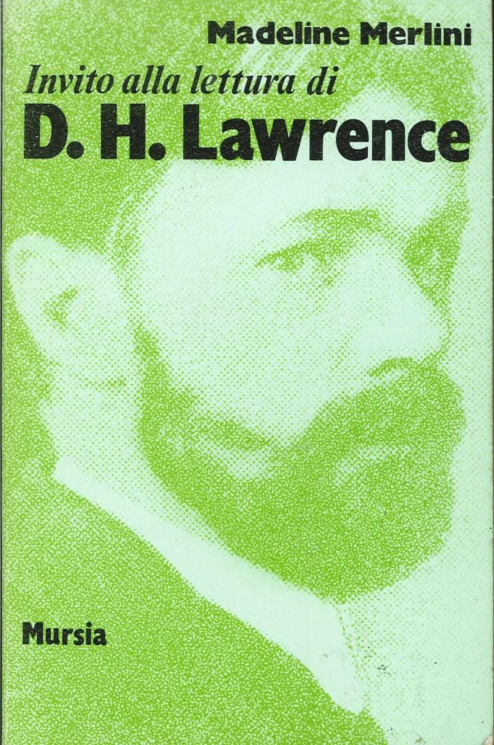 Invito alla lettura di D. H. Lawrence