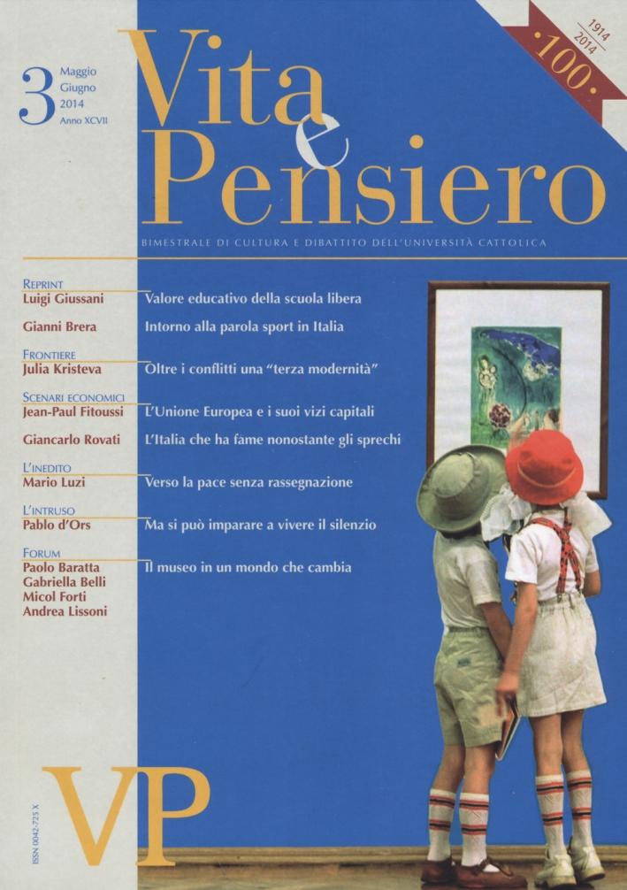 Vita e pensiero (2014). Vol. 3