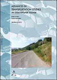 Advances in transportation studies. An international journal (2014). Vol. 33