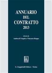 Annuario del contratto 2013
